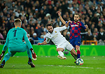 Real Madrid CF's Dani Carvajal seen in action during La Liga match. Mar 01, 2020. (ALTERPHOTOS/Manu R.B.)