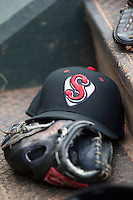 Nashville Sounds hat on June 12, 2015 at Chickasaw Bricktown Ballpark in Oklahoma City, Oklahoma. Andrew Woolley/Four Seam Images)