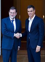 Mariano Rajoy and Pedro Sanchez