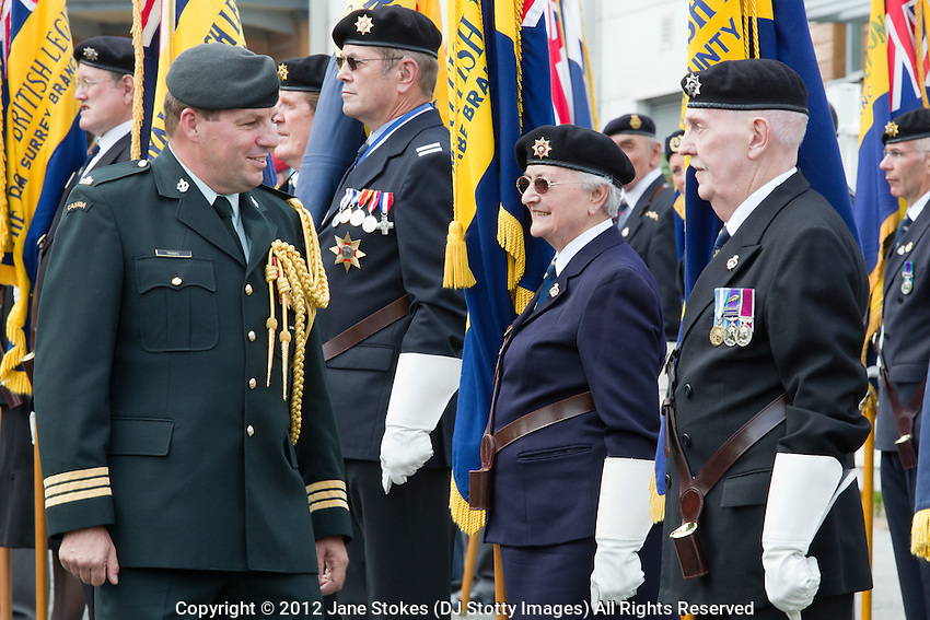 Dieppe Raid 70th Anniversary Memorial Service Lieutenant  - Colonel Jean Trudel, on behalf of the Canadian High Commissioner