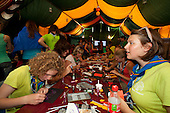 encounter between religions at Faith & Beliefs, World Scout Jamboree 2011, sweden