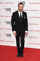 "director, Tom Ford<br /> at the London Film Festival 2016 premiere of ""Nocturnal Animals"" at the Odeon Leicester Square, London.<br /> <br /> <br /> ©Ash Knotek  D3179  14/10/2016"