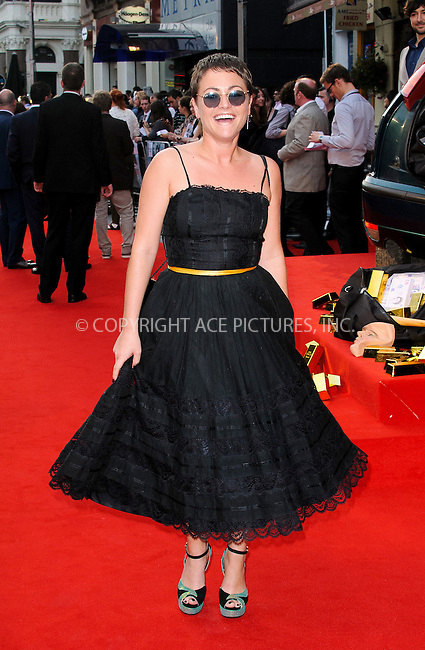 WWW.ACEPIXS.COM....US Sales Only....September 3 2012, London....Jaime Winstone at the premiere of 'The Sweeney' on September 3 2012  in London......By Line: Famous/ACE Pictures......ACE Pictures, Inc...tel: 646 769 0430..Email: info@acepixs.com..www.acepixs.com