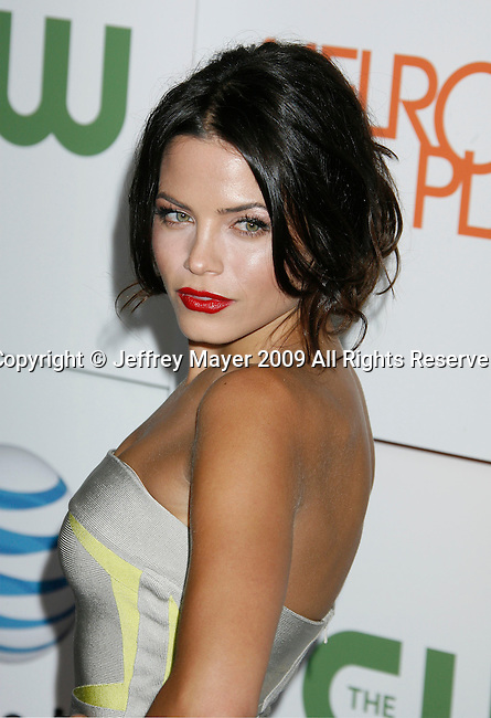 "LOS ANGELES, CA. - August 22: Jenna Dewan arrives at the ""Melrose Place"" Los Angeles Premiere Party on August 22, 2009 in Los Angeles, California."