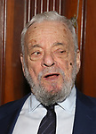 Stephen Sondheim attends 2017 Dramatists Guild Foundation Gala reception at Gotham Hall on November 6, 2017 in New York City.
