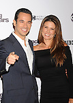 "HOLLYWOOD, CA. - November 01: Helio Castroneves and Adriana Henao attend ""Dancing With The Stars"" 200th Episode at Boulevard 3 on November 1, 2010 in Hollywood, California."