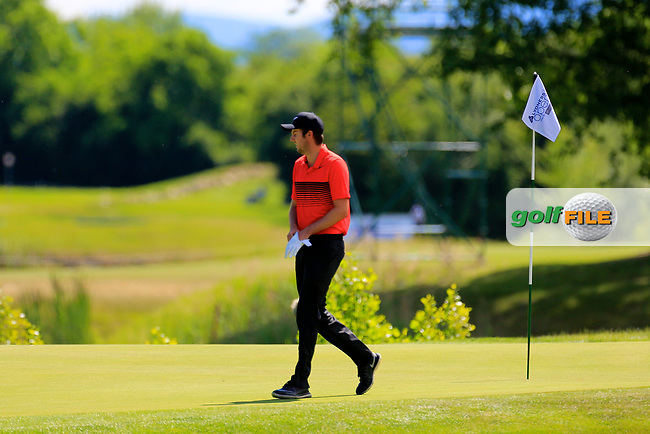 Ashley Chesters (ENG) during the third round of the Lyoness Open powered by Organic+ played at Diamond Country Club, Atzenbrugg, Austria. 8-11 June 2017.<br /> 10/06/2017.<br /> Picture: Golffile | Phil Inglis<br /> <br /> <br /> All photo usage must carry mandatory copyright credit (&copy; Golffile | Phil Inglis)