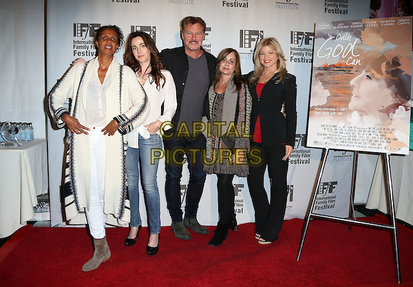 Hollywood, CA - November 06 Robbi Chong, Lisa Sheridan, Greg Evigan, Linda Flannery, Donna D'Errico Attending The International Family Film Festival in Hollywood Screening of &quot;Only God Can&quot; At Pickford Theater at Raleigh Studios On November 06, 2015. <br /> CAP/MPI/FS<br /> &copy;FS/MPI/Capital Pictures