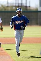 Jurickson Profar - Texas Rangers 2009 Instructional League. .Photo by:  Bill Mitchell/Four Seam Images..