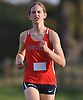 Carly Woelfel of South Side legs out a win in the Nassau County girls cross country Class B state qualifier at Bethpage State Park on Saturday, Nov. 4, 2017. She finished the 5K race with a time of 18:52.55.