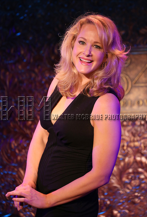Katie Finneran during a press preview of her show 'It Might Be You - A Funny Lady's Search for Home'  at 54 Below on May 9, 2014 in New York City.