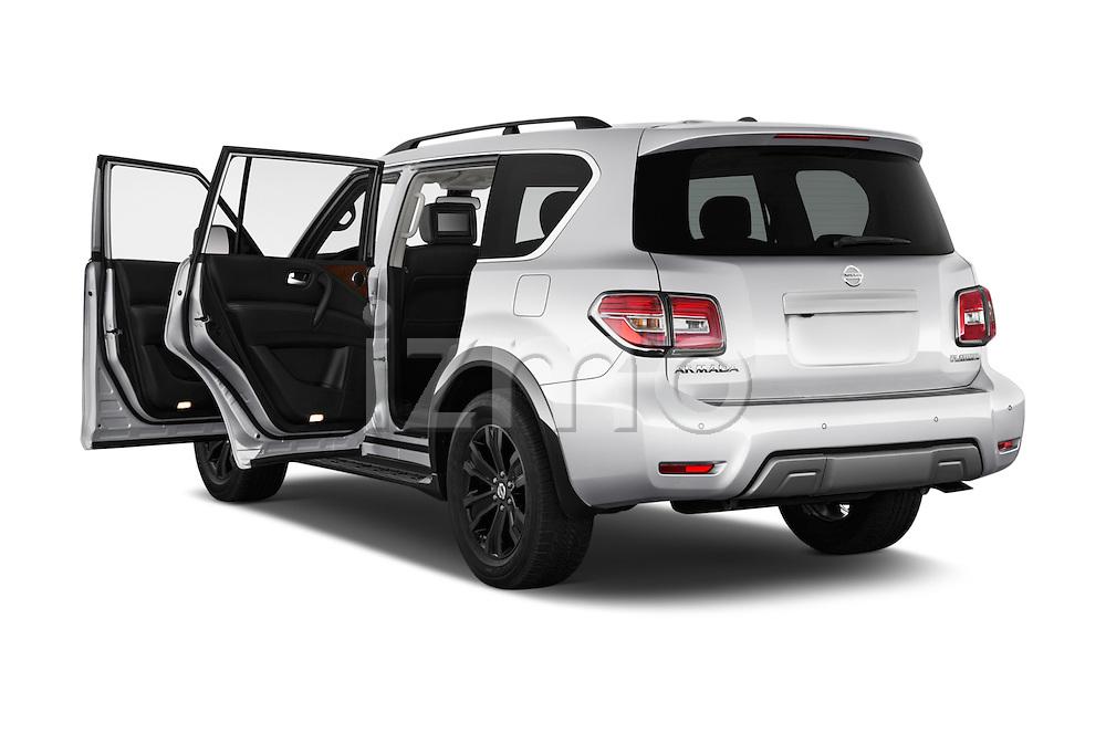 Car images of 2018 Nissan Armada Platinum 5 Door SUV Doors