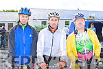Spinning around at the 2009 Ring of Kerry cycle in Killarney Saturday morning was l-r: Cathal O'Sullivan Barrow, Gearoid Ryle Tralee and Shane O'Connor Killarney