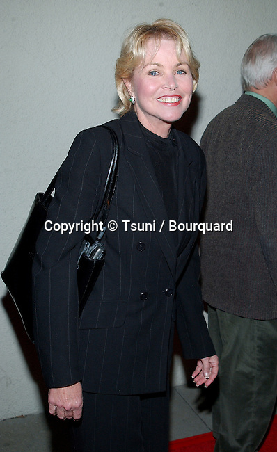Michelle Phillips arriving at the Norby's Walters 21th Annual Pre-Holiday Christmas Party at the Friars Club in Los Angeles. November 24, 2002.           -            PhillipsMichelle33.jpg