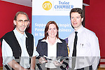 SEMINAR: The Tralee Chamber held a seminar at The Winter Garden Rooms at the Brandon Hotel, Tralee, on Monday evening. Attending the seminar were, Martin Caraher (speaker), Caroline McEnery (President of Tralee Chamber) and Peter Harty (Tralee)..