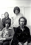 The Doors 1968 Ray Manzarek, Jim Morrison, Robbie Krieger, John Densmore at Top Of The Pops..© Chris Walter..