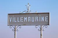 Chateau Villemaurine. Saint Emilion, Bordeaux, France