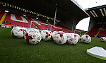 Website holding pic of balls during the League One match at Bramall Lane Stadium, Sheffield. Picture date: September 17th, 2016. Pic Simon Bellis/Sportimage