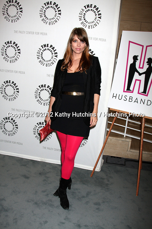 """Beverly Hills - AUG 13:  Amber Benson arrives at the """"Husbands"""" Season Two Premiere Panel at Paley Center for Media on August 13, 2012 in Beverly Hills, CA"""