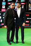 Gulshan Grover and Sooraj Pancholi attends to the photocall of the IIFA Awards in Madrid. June 25. 2016. (ALTERPHOTOS/Borja B.Hojas)