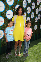 Garcelle Beauvais and children<br />