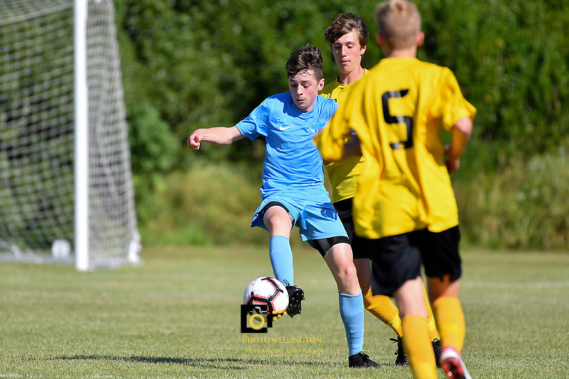 National Age Group Tournament - U14 Boys Capital v South at Petone Memorial Park, Lower Hutt, New Zealand on Wednesday 12 December 2018. <br />