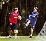 Josh Windass training with Stevie Walker