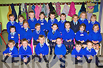 Junior Infants at Scoil Mhuire Killorglin on wednesday front row l-r: Andre Birsan, Killian Spillane, Eoin Lynch, Danny Coffey, Oisin Lynch, John Touhy. Middle row: Caitlyn Horgan, Laura Leslie, Aoife Cleary, Lucy McGillicuddy, Lucy Cahill, Severine Masson, Lauren Foley. Back row: Cian Fogarty, Ella Noreen O'Donnell, Orla Hamilton, Nicolas Bradburn, David Crowley, Ryan Crowley, Dolina Jevstafjeva, Rebecca McCloskey-Doherty and Enrika Lubyte