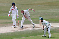 Luke Fletcher of Notts in bowling action during Essex CCC vs Nottinghamshire CCC, Specsavers County Championship Division 1 Cricket at The Cloudfm County Ground on 23rd June 2018