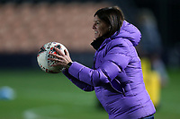 Tottenham womens manager Karen Hills before Tottenham Hotspur Women vs Everton Women, Barclays FA Women's Super League Football at the Hive Stadium on 12th February 2020