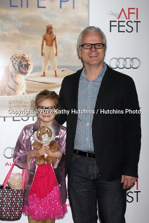 "LOS ANGELES - NOV 2:  Claudio Miranda arrives at the AFI Film Festival 2012 ""Life of Pi"" Screening at Los Angeles on November 2, 2012 in Graumans Chinese Theater, CA"