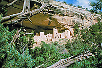 Cliff dwellings of the Ancestral Puebloans, southwestern United States