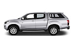 Car Driver side profile view of a 2019 Isuzu D-Max LSX 5 Door Pick-up Side View