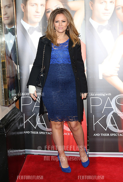 Kimberley Walsh at the Katya and Pasha West End show - Gala night held at the Lyric Theatre, London. 07/04/2014 Picture by: Henry Harris / Featureflash