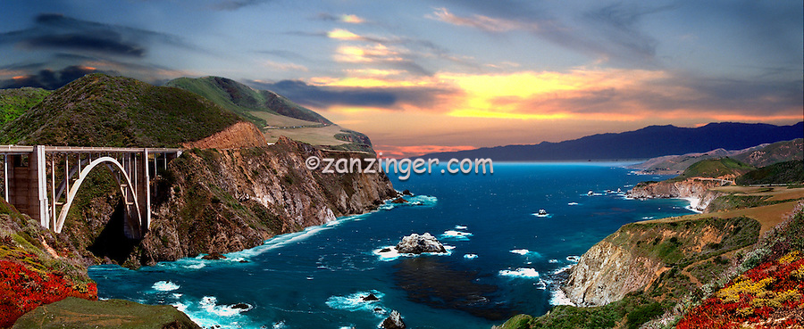Bixby Bridge, Central Coast, CA