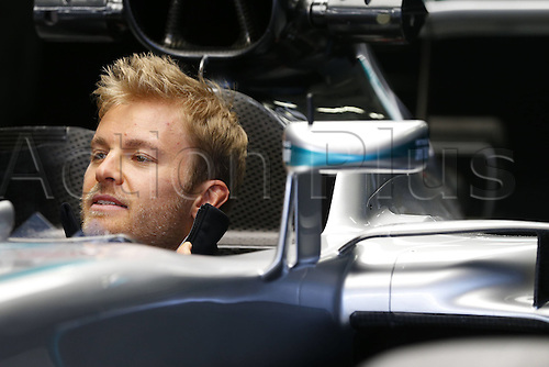 28.04.2016. Sochi, Russia. FIA Formula 1 Grand Prix of Russia from the Sochi racetrack.  Arrival and inspection day.  6 Nico Rosberg (GER, Mercedes AMG Petronas Formula One Team)