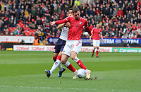 Ben Purrington of Charlton Athletic shot goes wide during Charlton Athletic vs Middlesbrough, Sky Bet EFL Championship Football at The Valley on 7th March 2020