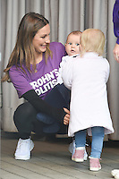 Sam Faiers with son Paul and niece, Nelly<br /> at the launch WALK IT London for Crohn&rsquo;s &amp; Colitis UK charity walk, Embankment, London.<br /> <br /> <br /> &copy;Ash Knotek  D3128  04/06/2016