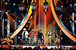 CORAL GABLES, FL - APRIL 28: El Dasa, Papayo, Gente de Zona and Farruko performs onstage at the Billboard Latin Music Awards at the BanKUnited Center on Thursday April 28, 2016 in Coral Gables, Florida. ( Photo by Johnny Louis / jlnphotography.com )