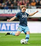 Nederland, Nijmegen, 26 september  2012.Seizoen 2012-2013.KNVB beker.NEC-Feyenoord.Ruud Vormer van Feyenoord in actie met de bal