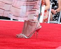LOS ANGELES - AUG 29:  Kirsten Dunst shoe detail at the Kirsten Dunst Star Ceremony on the Hollywood Walk of Fame on August 29, 2019 in Los Angeles, CA
