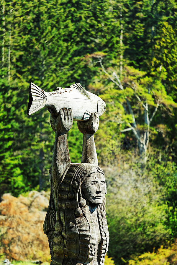 The Maiden of Deception Pass,  Deception Pass State Park, Washington, USA