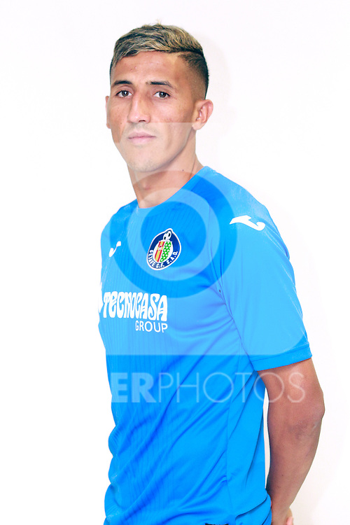 Getafe CF's Faycal Fajr during the session of the official photos for the 2017/2018 season. September 19,2017. (ALTERPHOTOS/Acero)