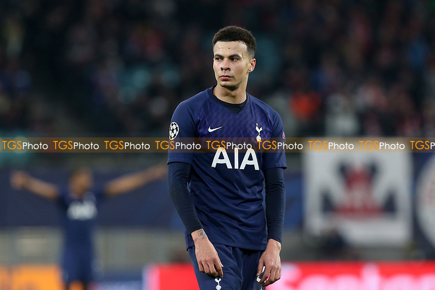 Dele Alli of Tottenham Hotspur during RB Leipzig vs Tottenham Hotspur, UEFA Champions League Football at the Red Bull Arena on 10th March 2020