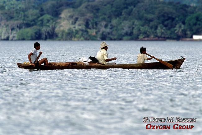 People In Canoe