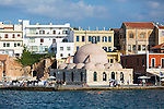 Street scenes in Chania, Crete, Greece