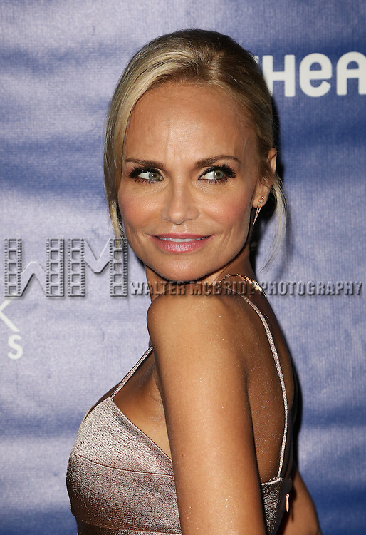 Kristin Chenoweth attends the 2015 Drama Desk Awards at Town Hall on May 31, 2015 in New York City.