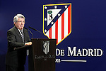 Atletico de Madrid's President Enrique Cerezo. January 5, 2016. (ALTERPHOTOS/Acero)