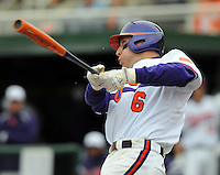 24 February 2008: Photo from a game between the Mercer Bears and Clemson Tigers at Doug Kingsmore Stadium on Feb. 24, 2008, in Clemson, S.C. Clemson won 10-3. Photo by:  Tom Priddy/Four Seam Images