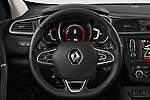 Car pictures of steering wheel view of a 2015 Renault Kadjar Bose Edition 5 Door Suv 2WD Steering Wheel